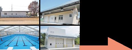公共事業施設の施工例