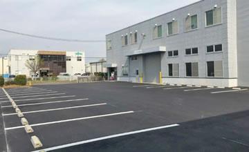 駐車場舗装改修工事
