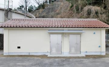 (仮称)小多田受水槽注入機室新築工事