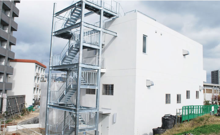 新安川排水機場上屋 新築工事