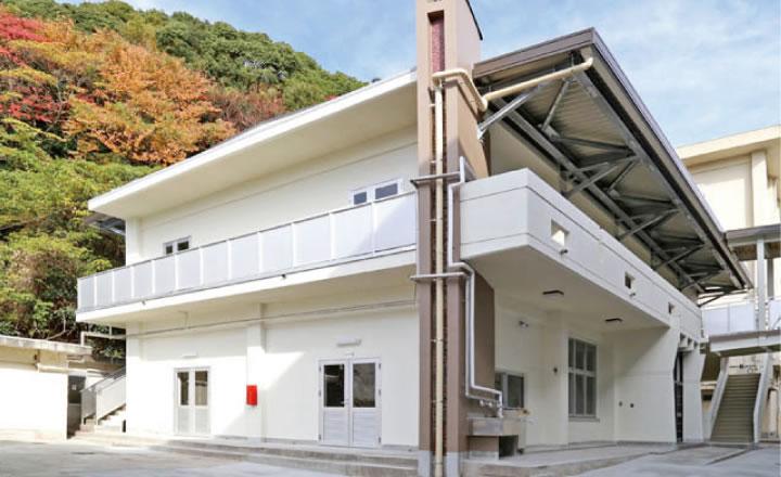 広島県立音戸高等学校武道場 耐震改修工事