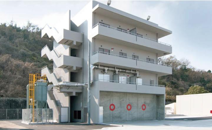 広島県消防学校実践的訓練施設 新築工事