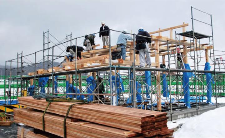 安芸国分寺歴史公園 休憩舎等 新築工事