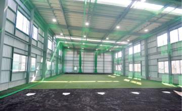 雨天練習場 建設工事